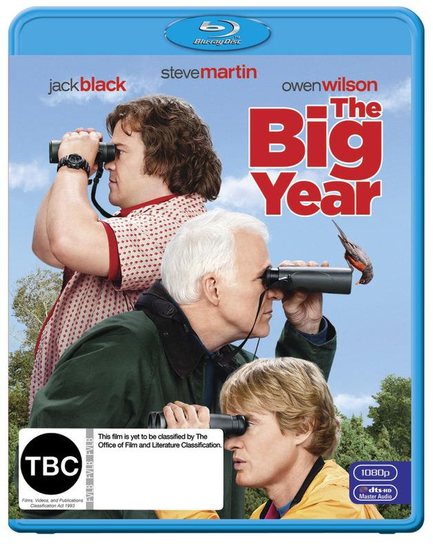 The Big Year on Blu-ray