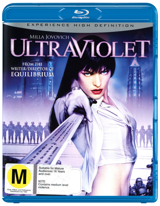 Ultraviolet on Blu-ray