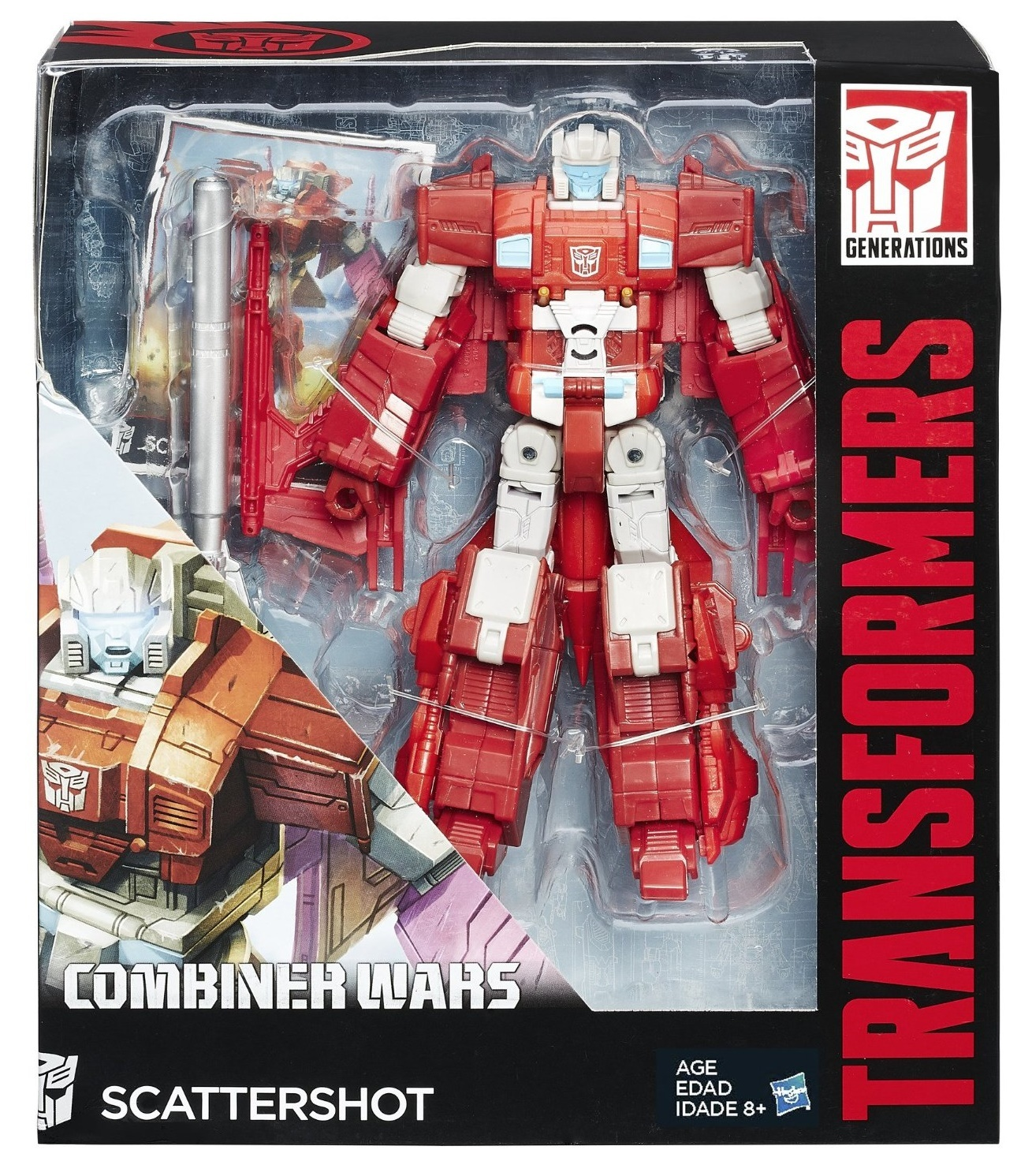 Transformers Generations - Voyager - Scattershot image