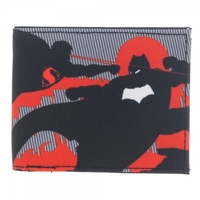Batman Vs Superman Dawn Of Justice Bi-Fold Wallet - Black/Red