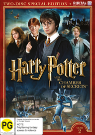 Harry Potter: Year 2 - The Chamber Of Secrets (Special Edition) on DVD