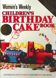 Children's Birthday Cake Book - Vintage Edition by The Australian Women's Weekly image