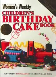 Children's Birthday Cake Book - Vintage Edition by The Australian Women's Weekly