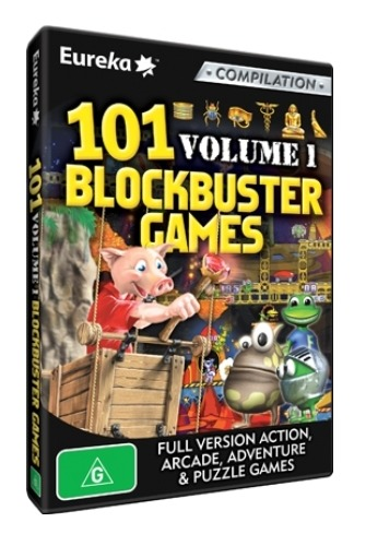 101 Blockbuster Games Volume 1 for PC Games