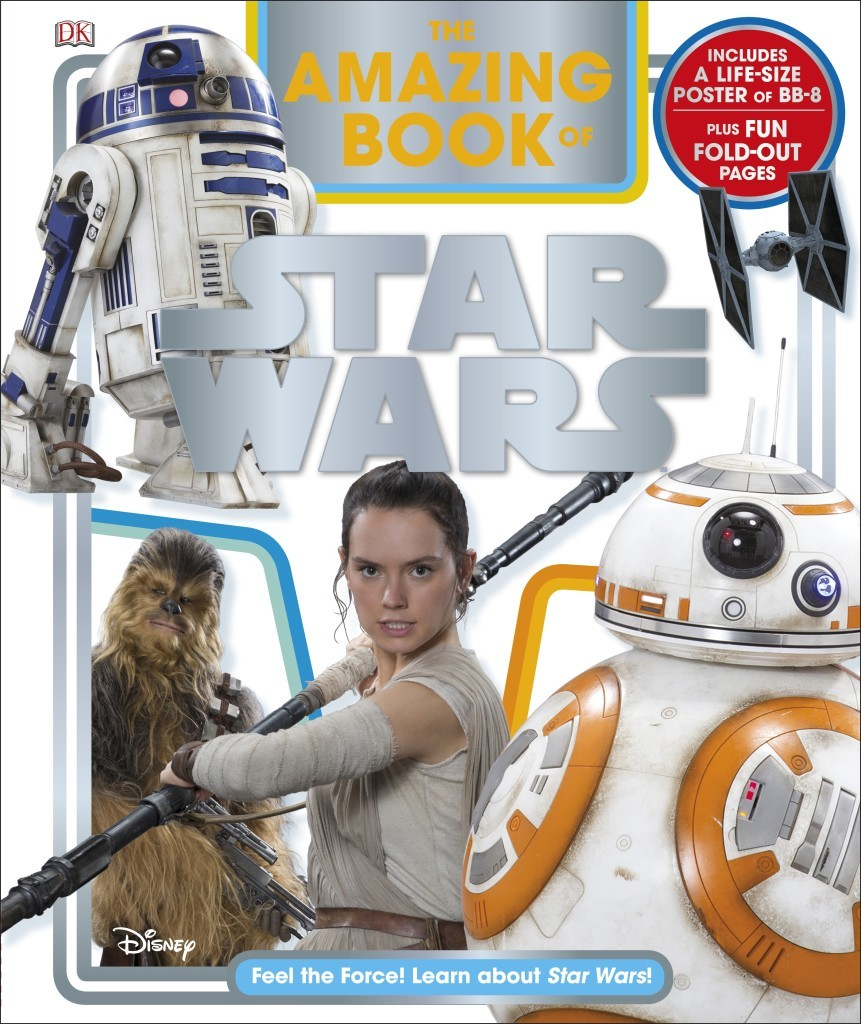 The Amazing Book of Star Wars by Elizabeth Dowsett image