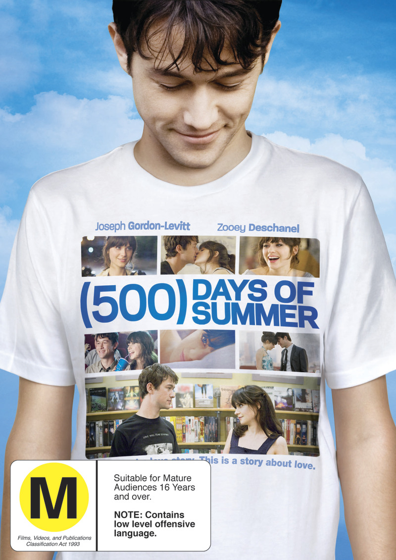 500 Days Of Summer on DVD image