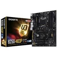 Gigabyte Ultra Durable GA-B250-HD3P ATX Motherboard image