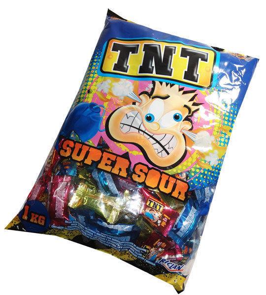TNT Sour Chews (1kg)