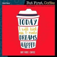 But First Coffee Wall Calendar