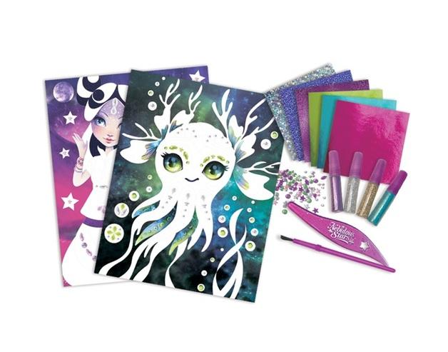 Nebulous Stars: Glitter & Foil - Art Kit