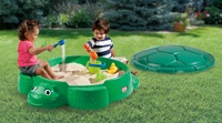 Little Tikes: Turtle Sandbox - Green