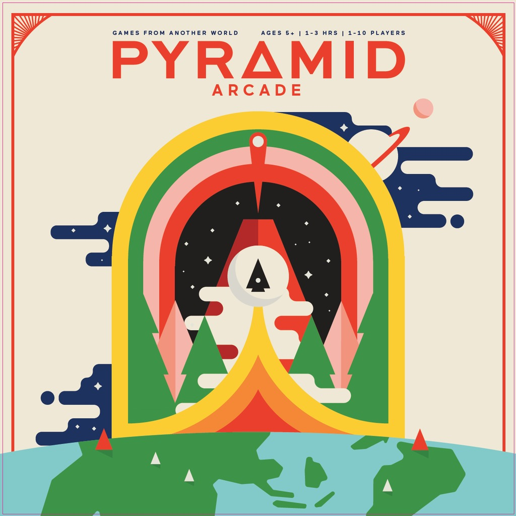 Pyramid Arcade - Board Game image