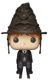 Harry Potter - Ron Weasley (Sorting Hat) Pop! Vinyl Figure