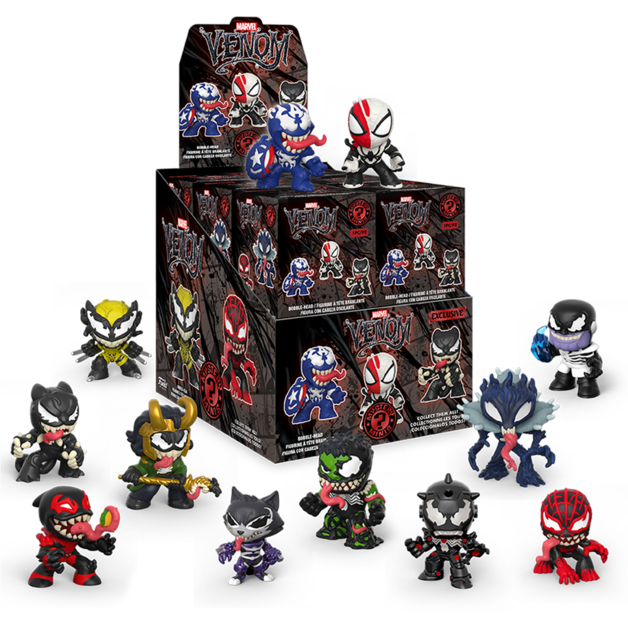 Marvel: Venomized Mystery Minis (GameStop) - Vinyl Figure (Blind Box)