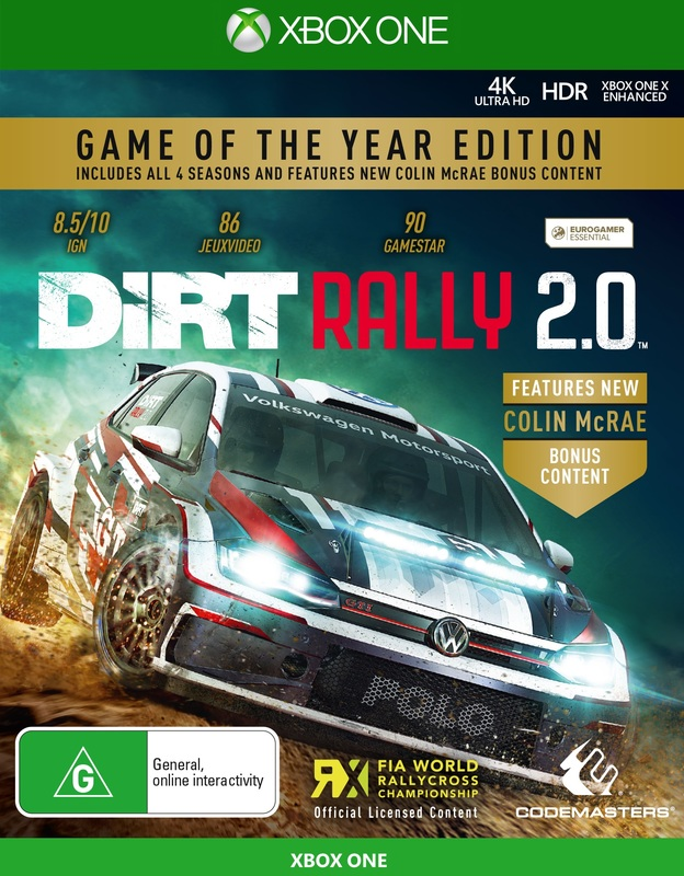 DiRT Rally 2.0 Game of the Year for Xbox One