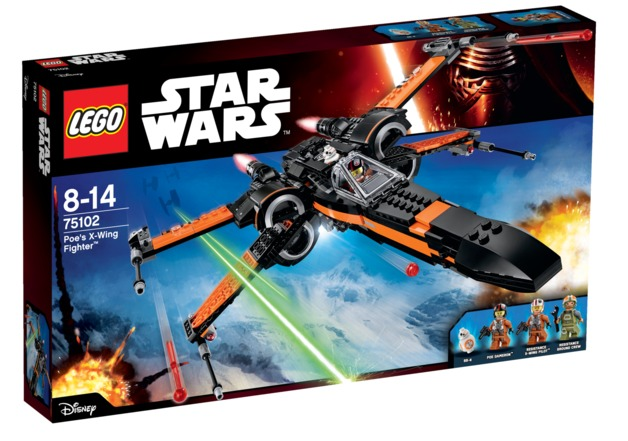 LEGO Star Wars: Poe's X-Wing Starfighter (75102)