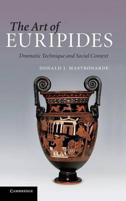 The Art of Euripides by Donald J. Mastronarde image