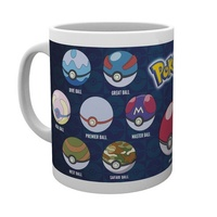 Pokemon: Pokeball Ceramic Mug (300ml)