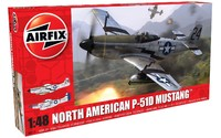 Airfix 1:48 North American P51-D Mustang Model Kit