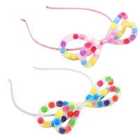 Pink Poppy: Pom Pom - Bow Headband (Assorted Designs)