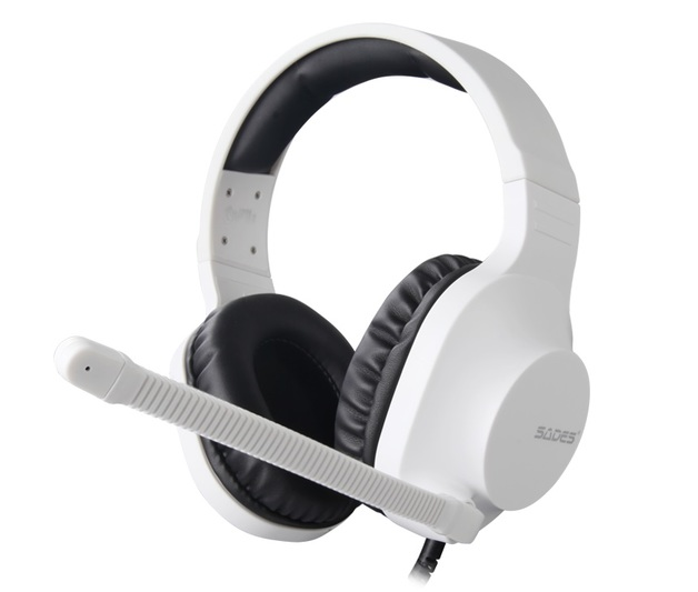 SADES Spirits Universal Gaming Headset (White) for
