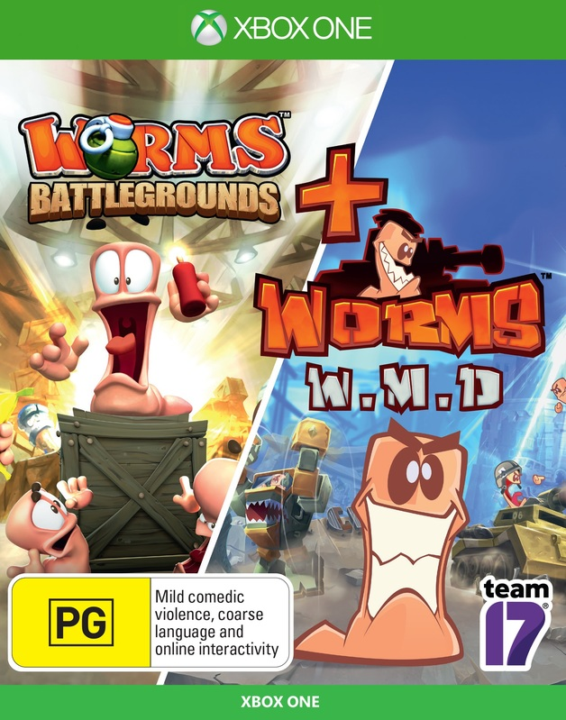 Worms Battlegrounds + Worms WMD Double Pack for Xbox One