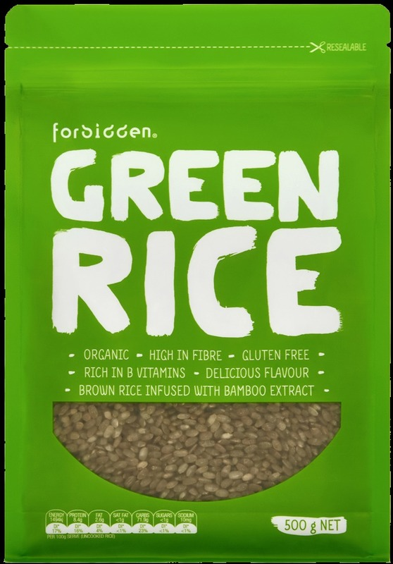 Forbidden Organic Green Rice (6 x 500g)