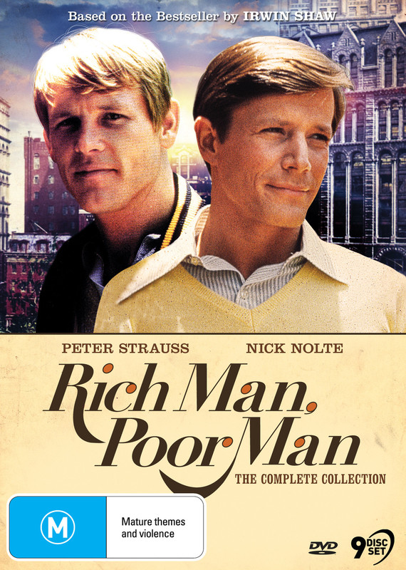 Rich Man, Poor Man - The Complete Collection on DVD