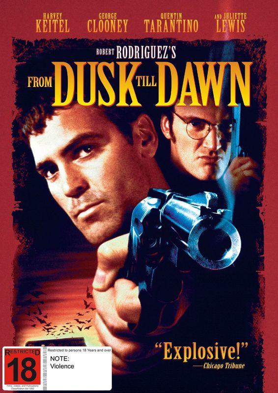 From Dusk Till Dawn on DVD