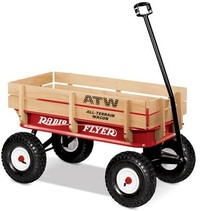Radio Flyer - All Terrain Steel & Wood Wagon