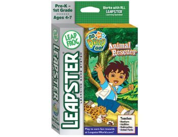 Leapfrog: Leapster Game - Go Diego Go! Animal Rescuer