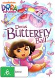 Dora The Explorer - Dora's Butterfly Ball on DVD