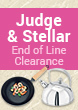 Judge & Stellar End of Line Clearance Sale