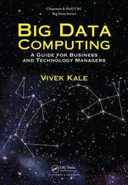 Big Data Computing by Vivek Kale