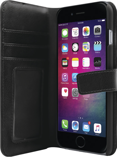 3SIXT Neo Case for iPhone 6/6S/7 & 8 - Black