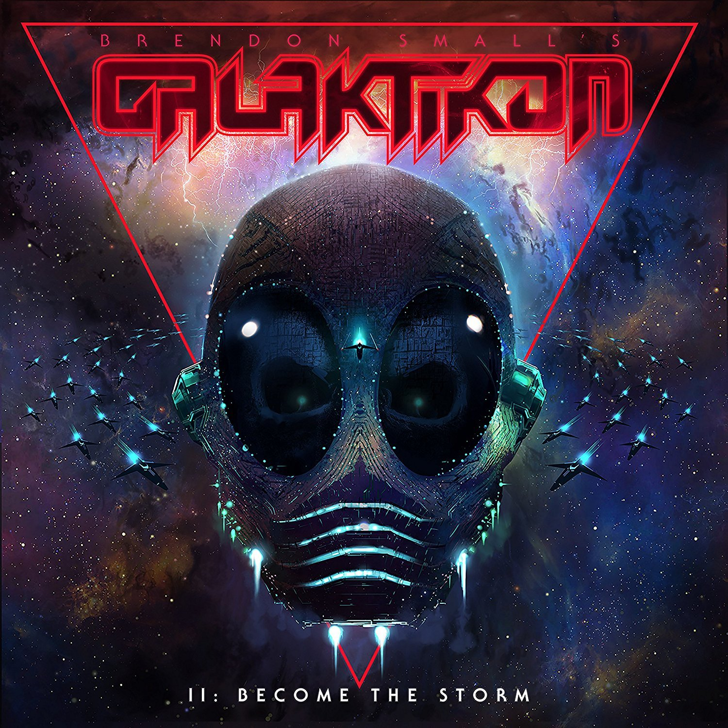 Galaktikon II: Become The Storm by Brendon Small image
