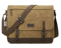 Troop London: Nomad Large Satchel Bag - Camel
