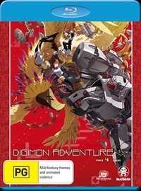 Digimon Adventure Tri. Part 4 - Loss on Blu-ray image