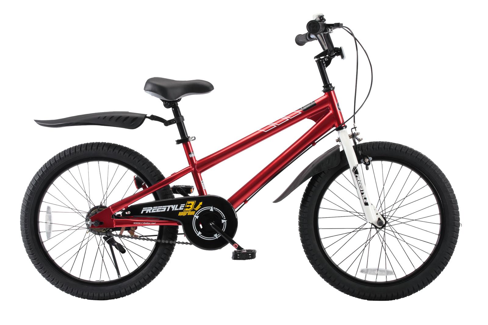 """RoyalBaby: BMX Freestyle - 20"""" Bike (Red) image"""