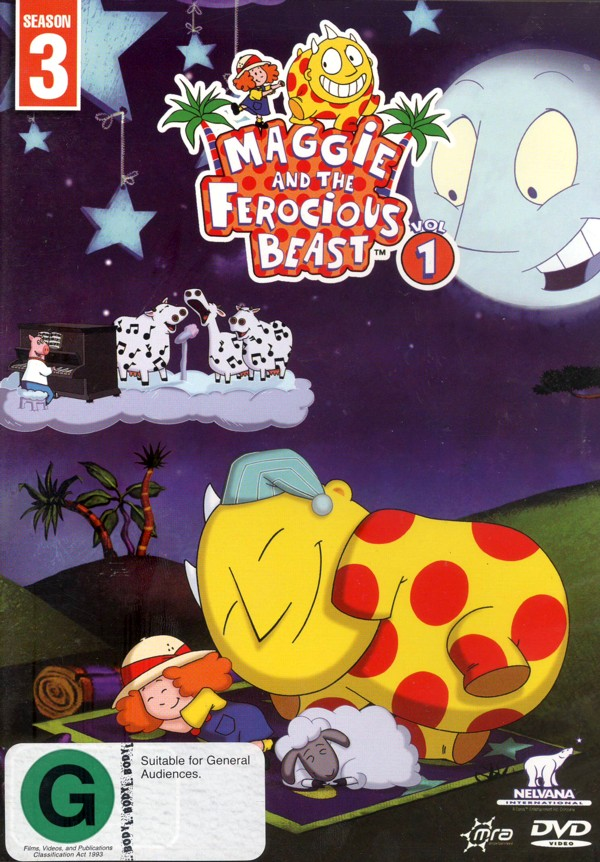 Maggie And The Ferocious Beast: Vol 1 on DVD image