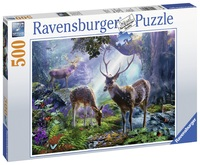 Ravensburger: 500 Piece Puzzle - Deer in the Wild image