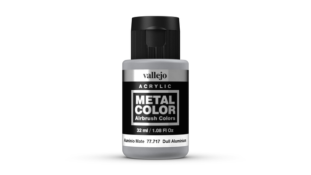 Vallejo Metal Colour Dull Aluminium (32ml)