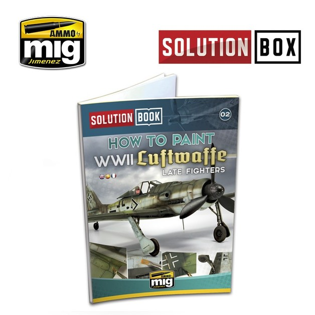 Ammo of Mig Jimenez WWII Luftwaffe Late Fighters Solution Book