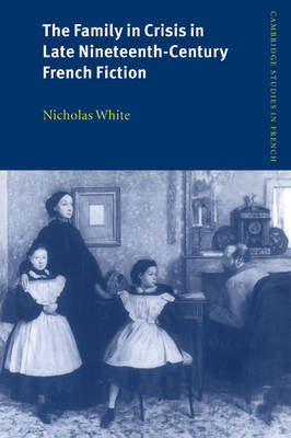 The Family in Crisis in Late Nineteenth-Century French Fiction by Nicholas White image