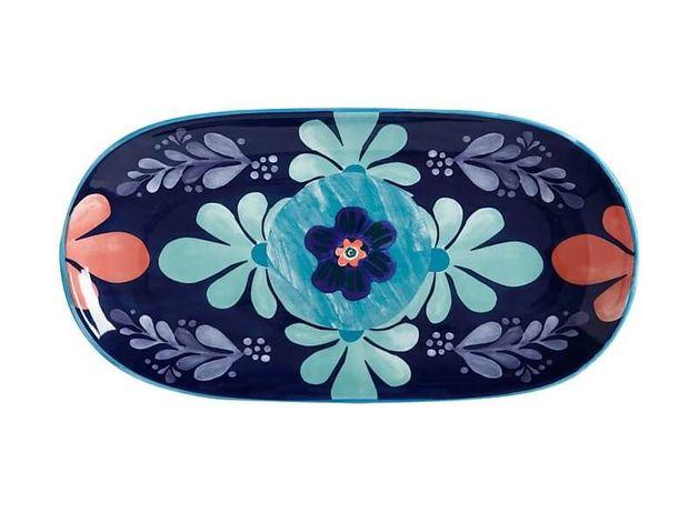 Maxwell & Williams: Majolica Oblong Platter Blue