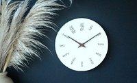 Moana Road: Wood Clock - Maori