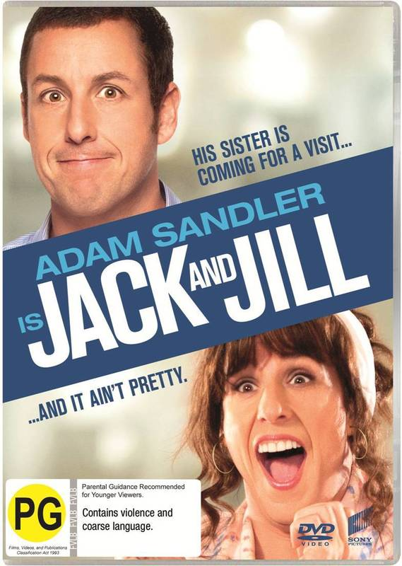 Jack and Jill on DVD