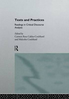 Texts and Practices by Carmen Rosa Caldas-Coulthard image