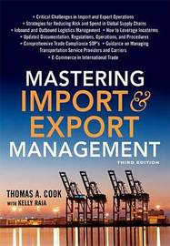 Mastering Import and Export Management by Cook