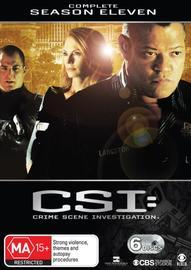 CSI - Las Vegas: Complete Season 11 on DVD